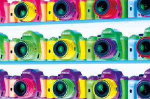 カラーオーダーメイドできるカメラのパンフレット[2010]