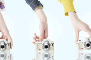 カメラ3機種のローカルプロモーション広告[2010]